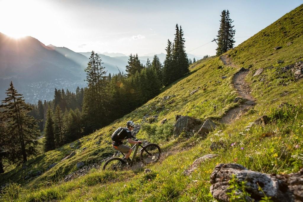 e gorsko kolesarjenje