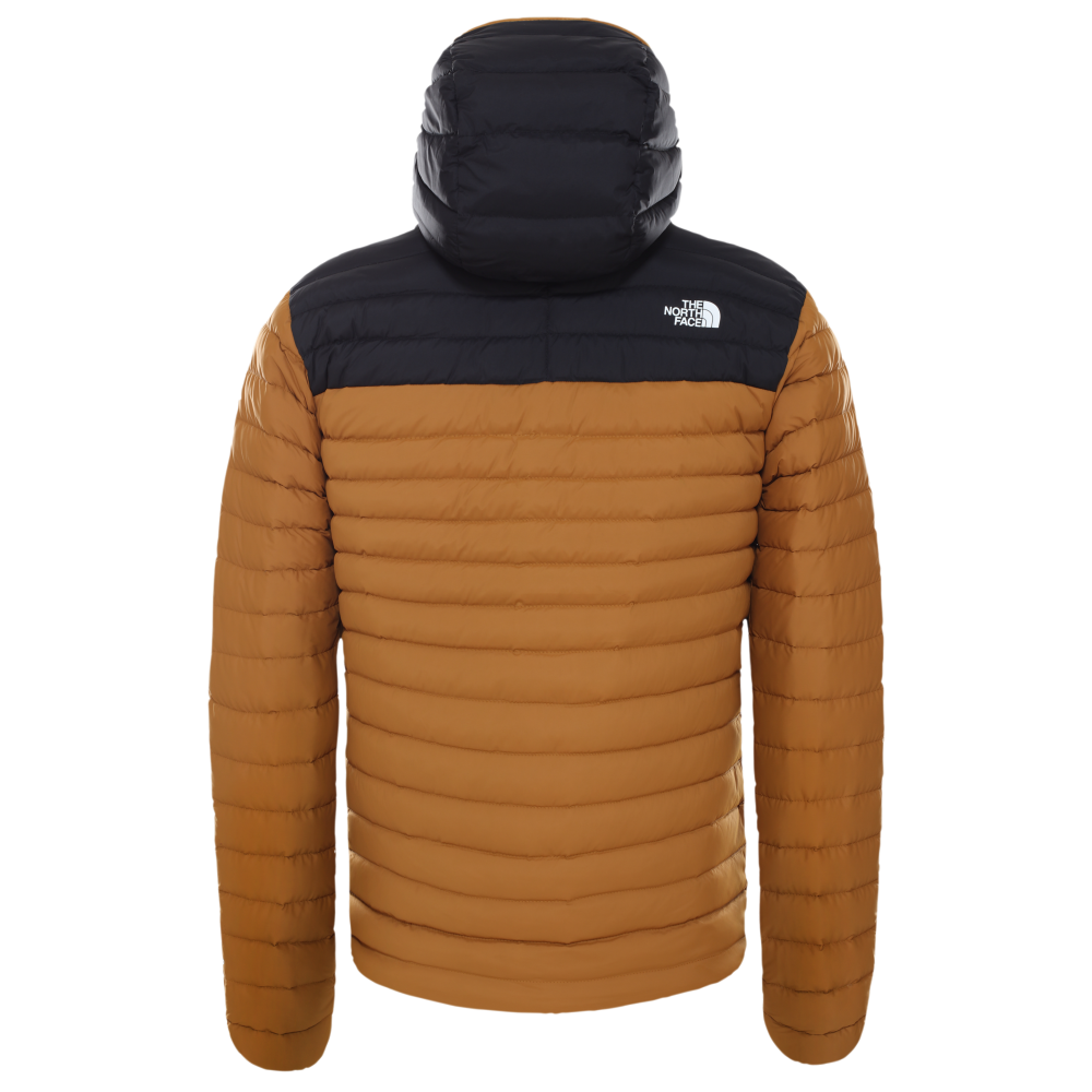 PUHOVKA THE NORTH FACE STRECH DOWN timber tan/tnf black
